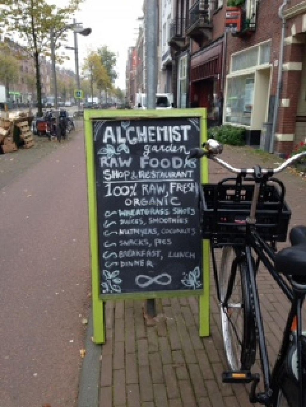 """Photo of Alchemist Garden  by <a href=""""/members/profile/lucyblack74"""">lucyblack74</a> <br/>100% raw vegan cafe with a range of very healthy foods <br/> October 31, 2014  - <a href='/contact/abuse/image/26197/84283'>Report</a>"""