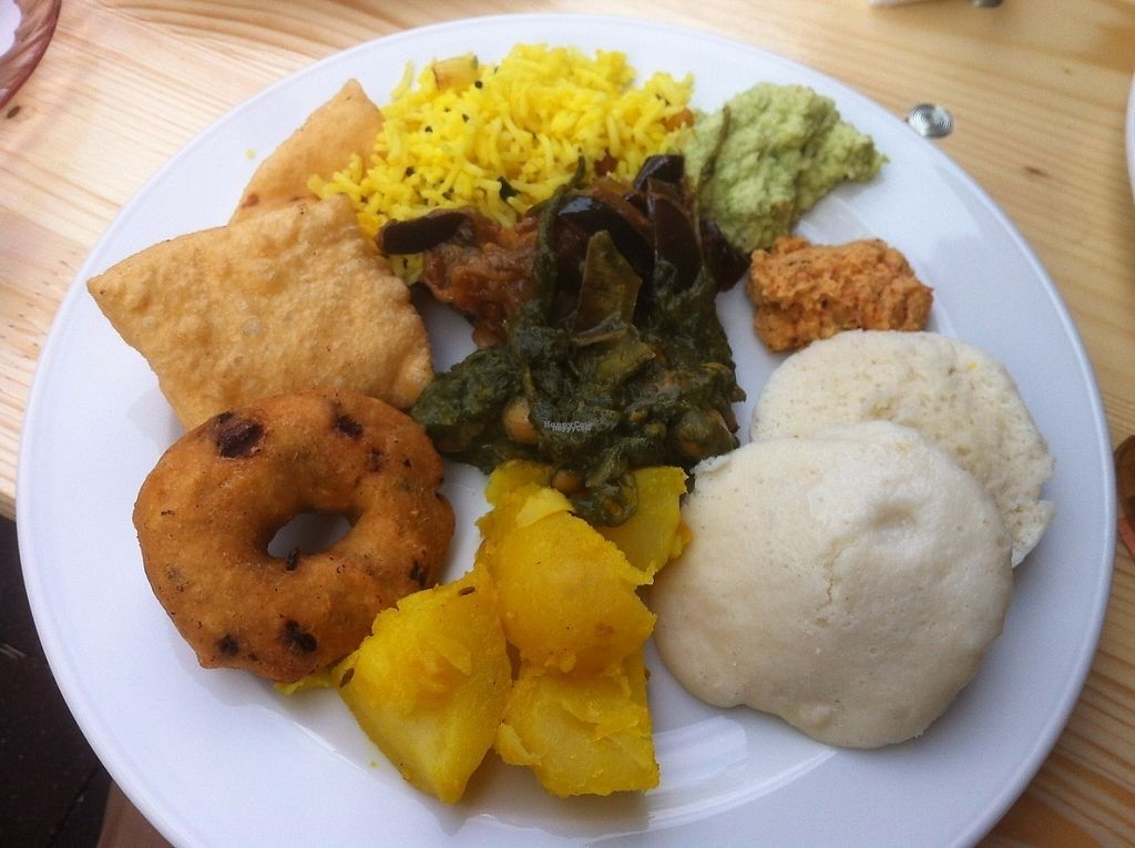 "Photo of Naveena Path  by <a href=""/members/profile/J-Veg"">J-Veg</a> <br/>My first plate at the vegan brunch!  <br/> April 30, 2017  - <a href='/contact/abuse/image/26209/254174'>Report</a>"