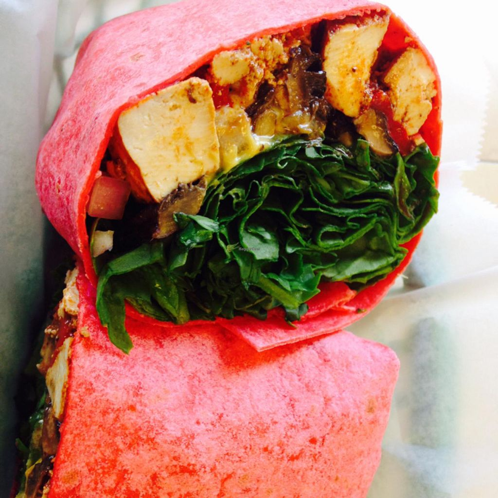 "Photo of Black Bean Co.  by <a href=""/members/profile/calamaestra"">calamaestra</a> <br/>portobello wrap <br/> June 11, 2015  - <a href='/contact/abuse/image/26213/105498'>Report</a>"
