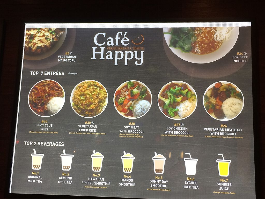 "Photo of Cafe Happy  by <a href=""/members/profile/Arti"">Arti</a> <br/>Simple menu <br/> December 27, 2017  - <a href='/contact/abuse/image/2621/339446'>Report</a>"