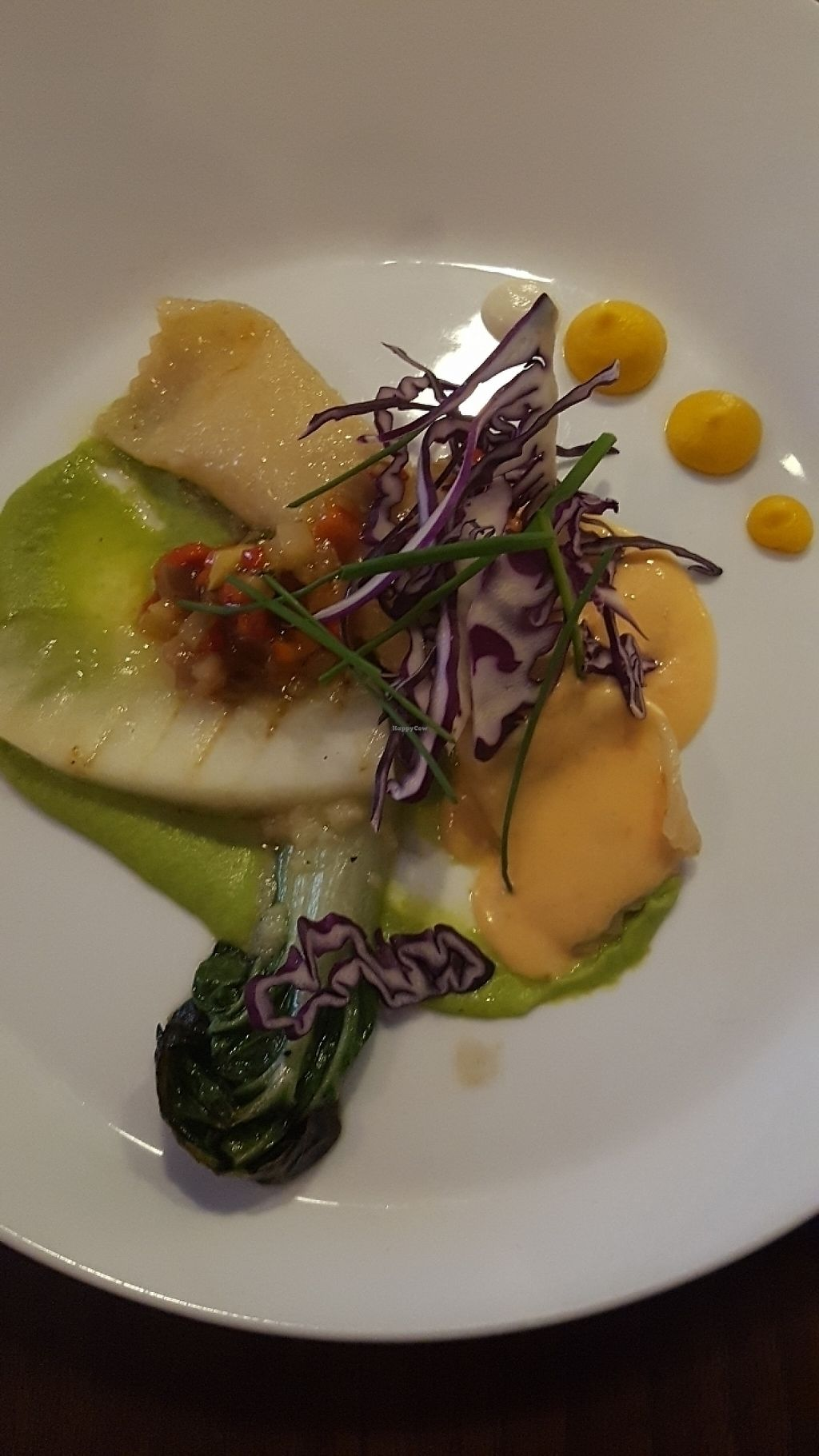 "Photo of Lucky Leek  by <a href=""/members/profile/GarethHailes"">GarethHailes</a> <br/>Ravioli with grilled melon <br/> June 5, 2017  - <a href='/contact/abuse/image/26241/266051'>Report</a>"