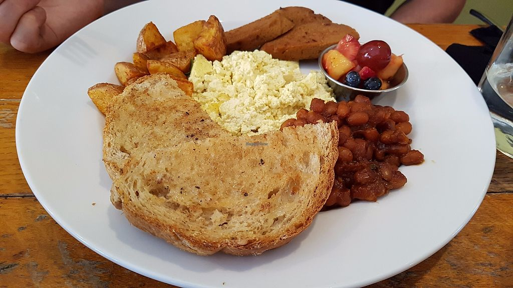 """Photo of Rise Above Restaurant and Bakery  by <a href=""""/members/profile/JonJon"""">JonJon</a> <br/>English breakfast <br/> July 28, 2017  - <a href='/contact/abuse/image/26245/285838'>Report</a>"""