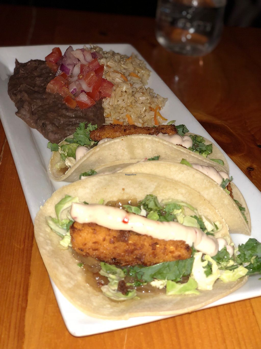 """Photo of Rise Above Restaurant and Bakery  by <a href=""""/members/profile/gwild"""">gwild</a> <br/>Crispy Squash Tacos <br/> November 25, 2017  - <a href='/contact/abuse/image/26245/329025'>Report</a>"""