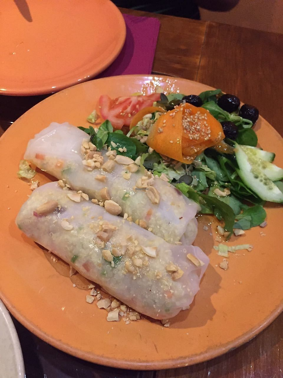 """Photo of Paprika  by <a href=""""/members/profile/FlokiTheCat"""">FlokiTheCat</a> <br/>Quinoa vietnamese rolls <br/> October 6, 2017  - <a href='/contact/abuse/image/26256/312355'>Report</a>"""