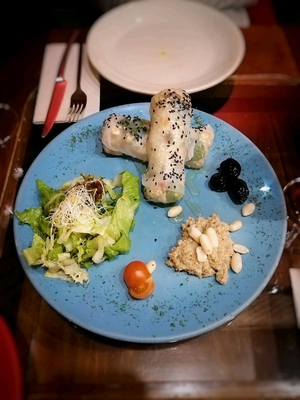 """Photo of Paprika  by <a href=""""/members/profile/Marieke95"""">Marieke95</a> <br/>summer rolls with quinoa <br/> April 15, 2018  - <a href='/contact/abuse/image/26256/386514'>Report</a>"""