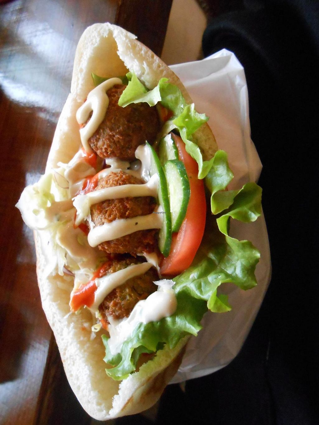 """Photo of Falafel Garden  by <a href=""""/members/profile/Den28"""">Den28</a> <br/>Falafel Garden <br/> June 7, 2015  - <a href='/contact/abuse/image/26257/105075'>Report</a>"""