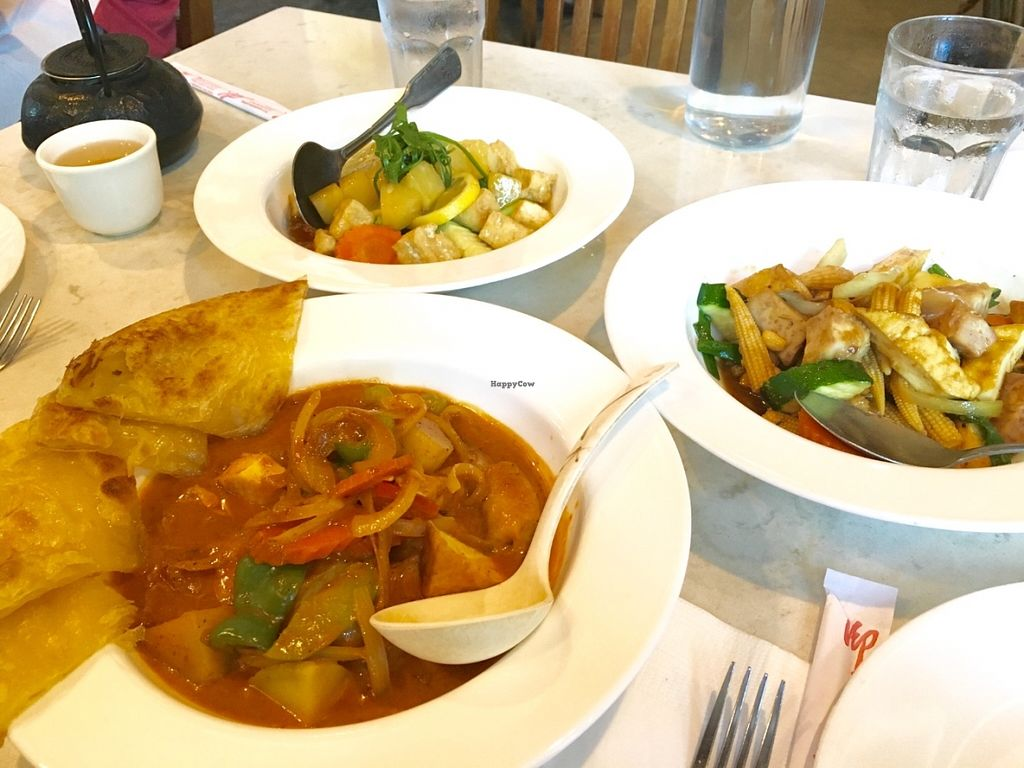 "Photo of Araya's Vegetarian Place  by <a href=""/members/profile/vegan%20frog"">vegan frog</a> <br/>Curry assortment <br/> June 8, 2016  - <a href='/contact/abuse/image/2625/152818'>Report</a>"
