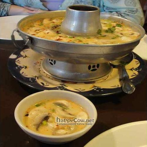 "Photo of Araya's Vegetarian Place  by <a href=""/members/profile/Smallu"">Smallu</a> <br/>Tom Kha Soup <br/> August 9, 2010  - <a href='/contact/abuse/image/2625/5452'>Report</a>"