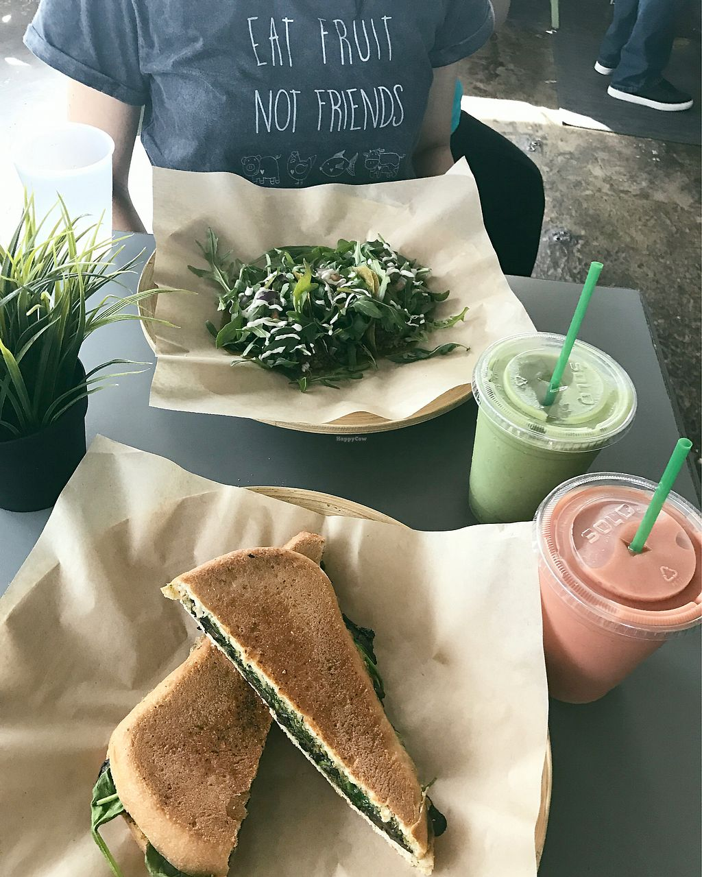 "Photo of Green Seed Vegan  by <a href=""/members/profile/eja314"">eja314</a> <br/>Latini panini and rockin tacos ?? <br/> September 24, 2017  - <a href='/contact/abuse/image/26265/307954'>Report</a>"