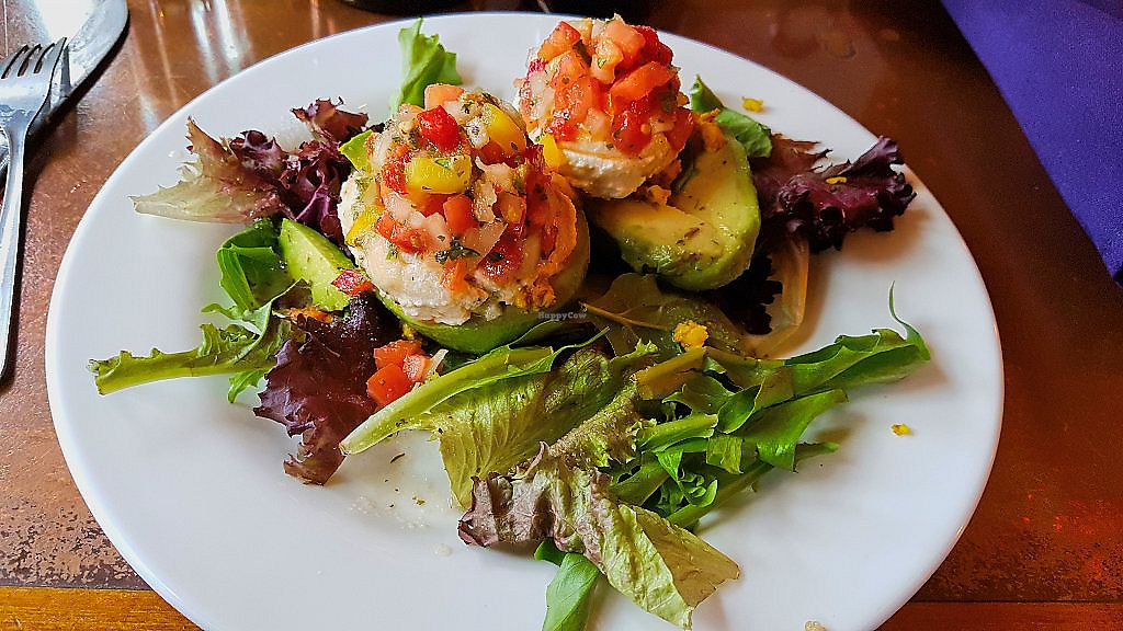 "Photo of Seasoned Vegan  by <a href=""/members/profile/JonJon"">JonJon</a> <br/>Stuffed avocado <br/> May 19, 2018  - <a href='/contact/abuse/image/26273/402023'>Report</a>"