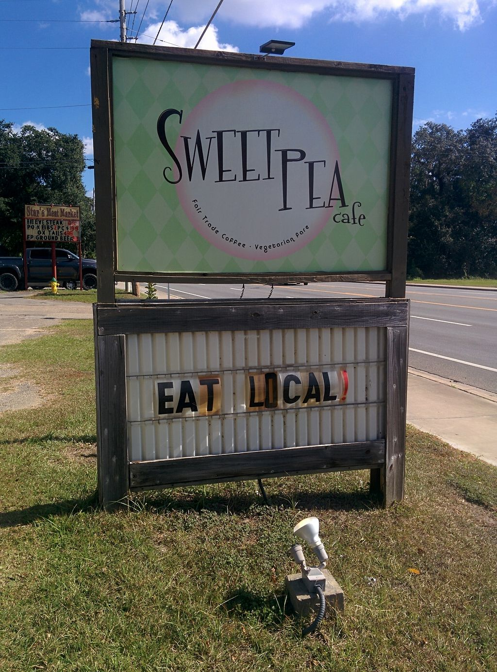 "Photo of Sweet Pea Cafe  by <a href=""/members/profile/MizzB"">MizzB</a> <br/>View from the road <br/> November 13, 2017  - <a href='/contact/abuse/image/26274/325236'>Report</a>"