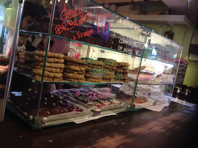 """Photo of CLOSED: Cookies and Scream - Camden Lock Market  by <a href=""""/members/profile/Mellywelly"""">Mellywelly</a> <br/>amazingly chewy big cookies only £2!  <br/> September 4, 2016  - <a href='/contact/abuse/image/26297/173563'>Report</a>"""