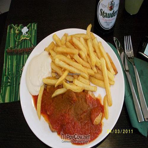 """Photo of CLOSED: Why So Serious  by <a href=""""/members/profile/G13MM"""">G13MM</a> <br/>Vegan Pommes-Currywurst-Mayo <br/> April 12, 2011  - <a href='/contact/abuse/image/26329/8173'>Report</a>"""