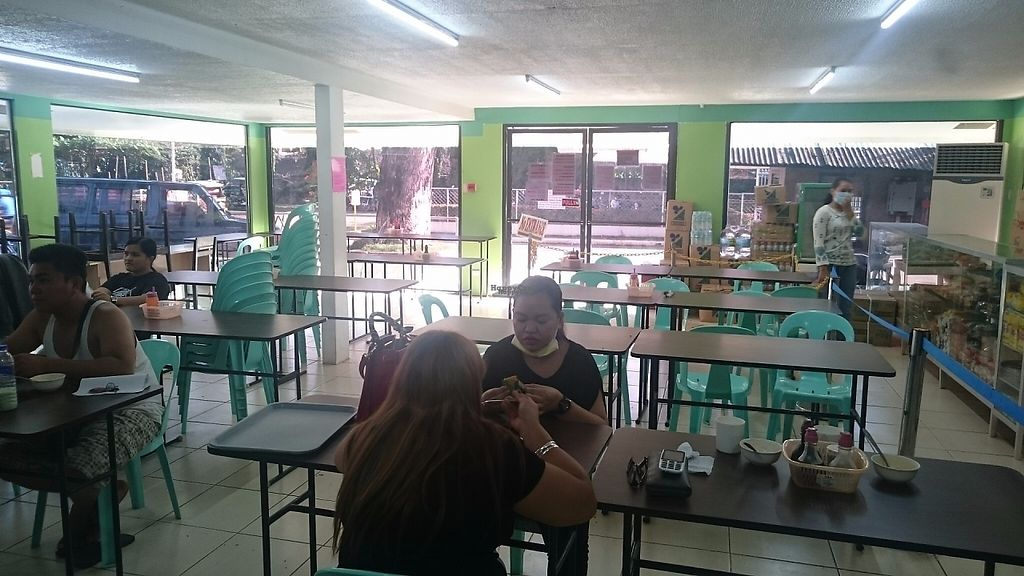 "Photo of Palawan Adventist Hospital Vegetarian Restaurant  by <a href=""/members/profile/peas-full"">peas-full</a> <br/>Dining area <br/> December 12, 2016  - <a href='/contact/abuse/image/26331/200202'>Report</a>"