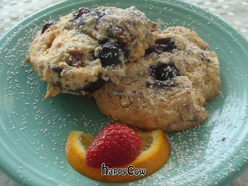 """Photo of Deer Run Bed and Breakfast  by <a href=""""/members/profile/Sonja%20and%20Dirk"""">Sonja and Dirk</a> <br/>blueberry scones <br/> March 16, 2013  - <a href='/contact/abuse/image/26365/45580'>Report</a>"""