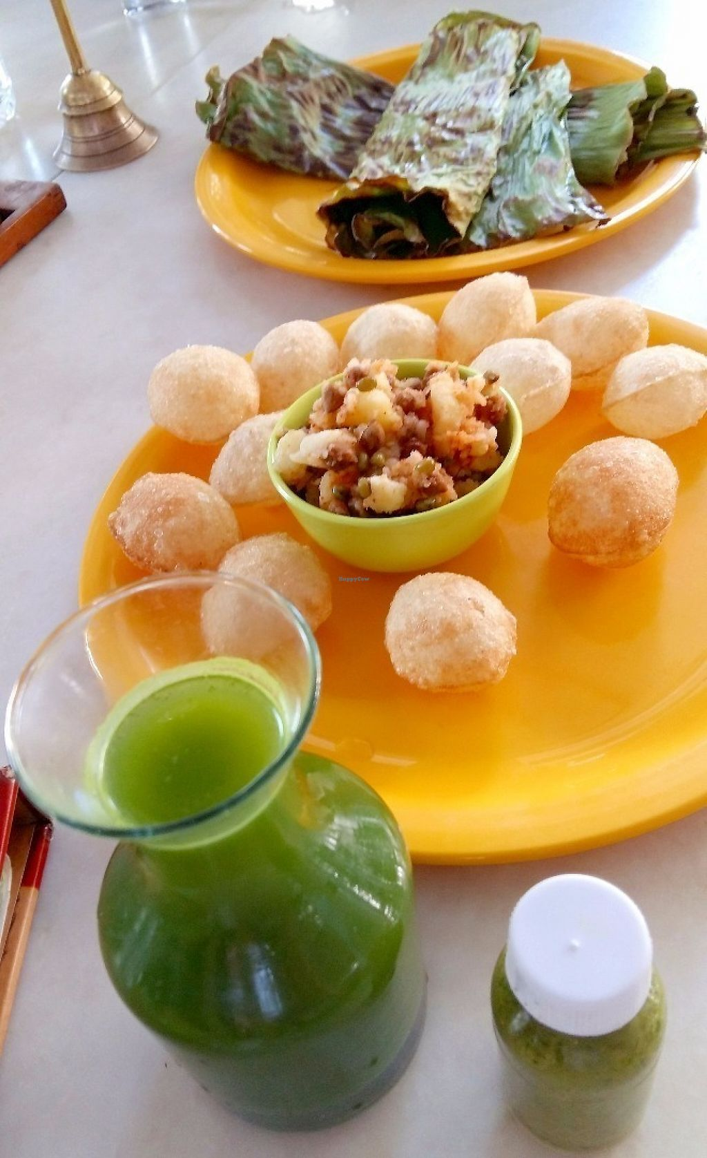 """Photo of The Green House  by <a href=""""/members/profile/Gudrun"""">Gudrun</a> <br/>Gol Gappa (Pani Puri) <br/> May 23, 2017  - <a href='/contact/abuse/image/26384/261761'>Report</a>"""