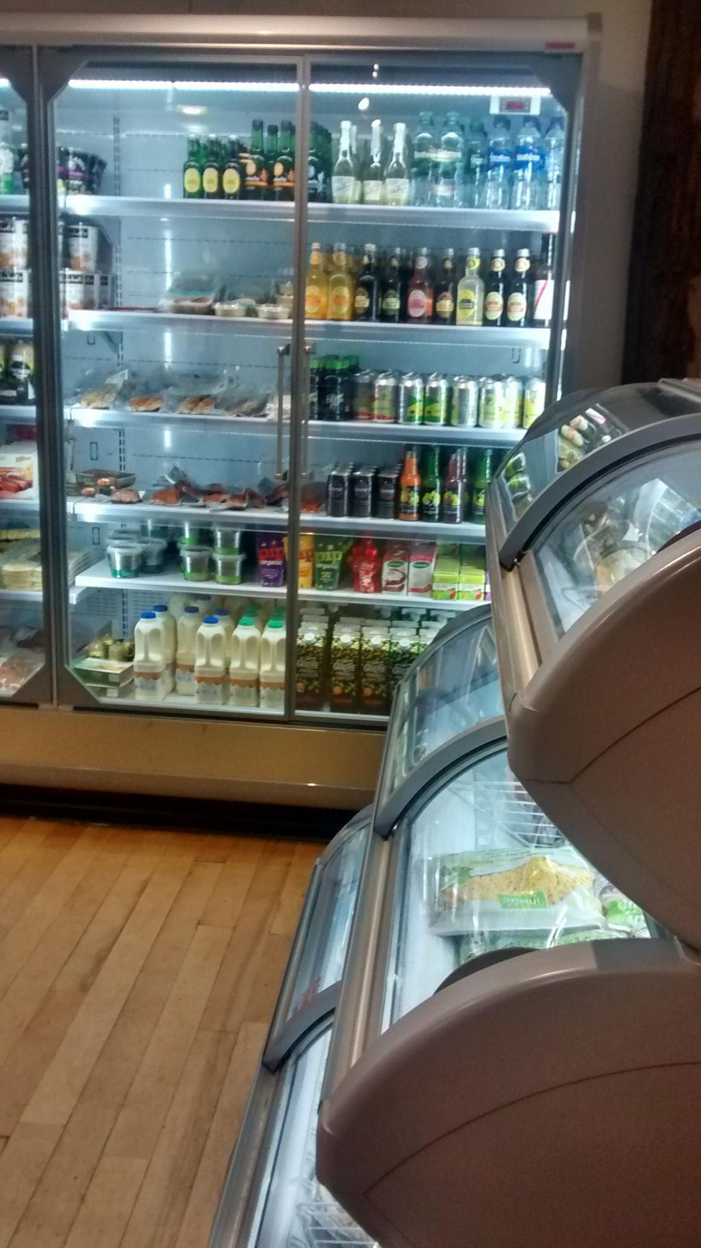 """Photo of Pillars of Hercules Organic Farm Shop and Cafe  by <a href=""""/members/profile/craigmc"""">craigmc</a> <br/>Organic juices and meat. Boo <br/> April 7, 2015  - <a href='/contact/abuse/image/26387/98192'>Report</a>"""