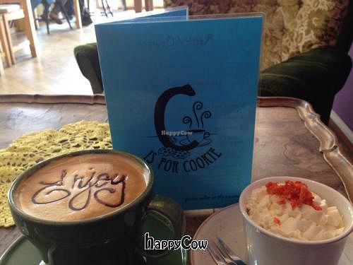"""Photo of C is for Cookie  by <a href=""""/members/profile/veganjess86"""">veganjess86</a> <br/>soy latte  <br/> June 14, 2013  - <a href='/contact/abuse/image/26399/49571'>Report</a>"""