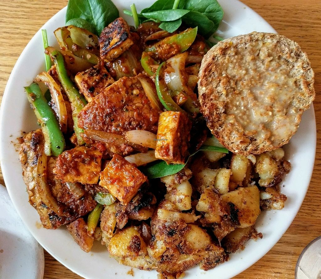 """Photo of Sunlight Cafe  by <a href=""""/members/profile/The%20Hungry%20Vegan"""">The Hungry Vegan</a> <br/>The Vegan Highlander <br/> September 3, 2017  - <a href='/contact/abuse/image/2639/300638'>Report</a>"""