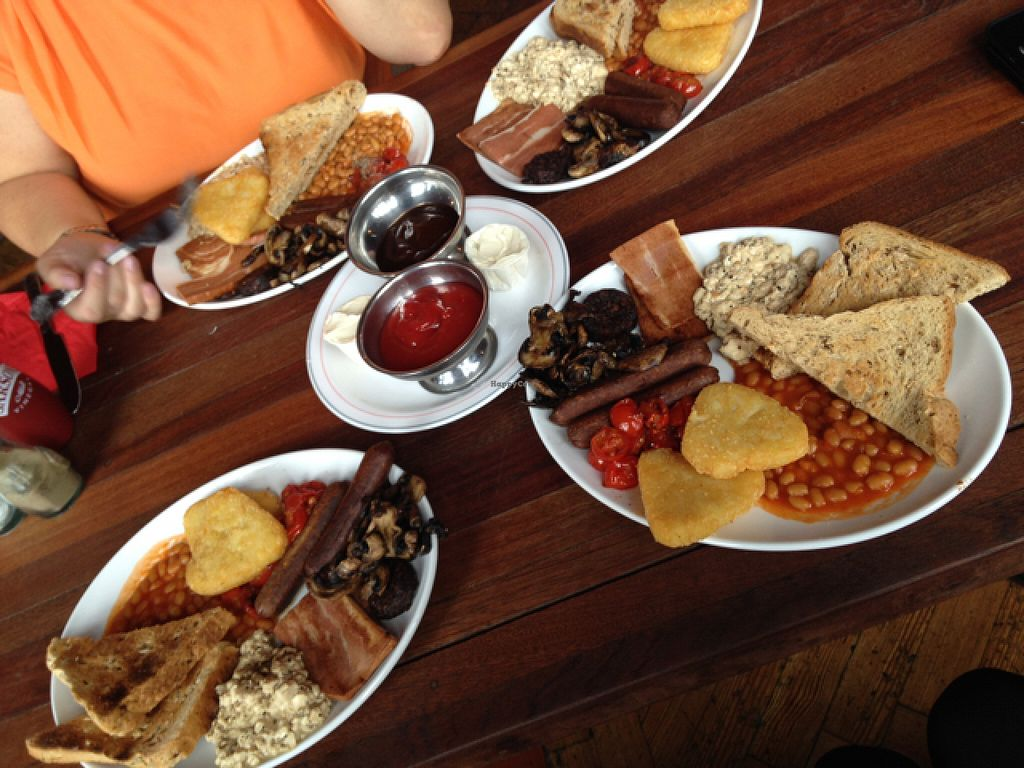 """Photo of The Railway Hotel  by <a href=""""/members/profile/Cjlelliott"""">Cjlelliott</a> <br/>vegan breakfast <br/> July 3, 2016  - <a href='/contact/abuse/image/26414/157613'>Report</a>"""