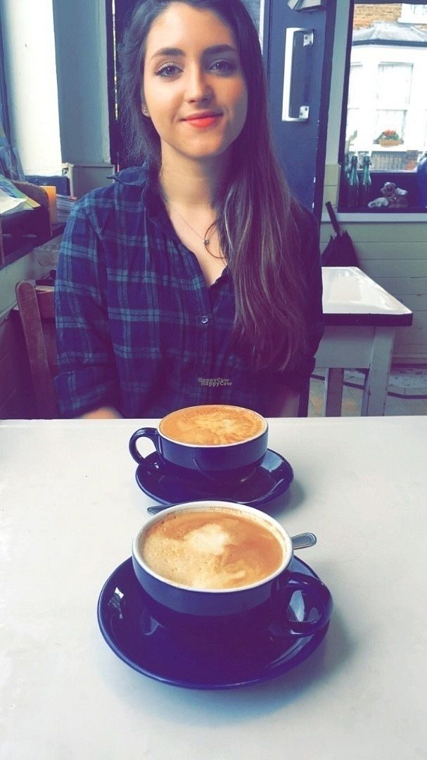 "Photo of Blue Brick Cafe  by <a href=""/members/profile/BethJones"">BethJones</a> <br/>Dairy free and non-dairy free coffee <br/> August 30, 2016  - <a href='/contact/abuse/image/26415/172366'>Report</a>"