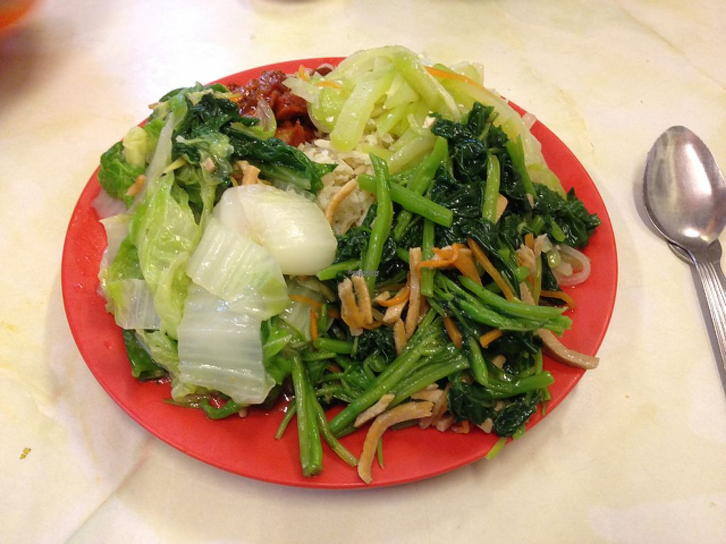 """Photo of Sweet Veggie  by <a href=""""/members/profile/Tofulicious"""">Tofulicious</a> <br/>Buffet meal <br/> February 20, 2017  - <a href='/contact/abuse/image/26418/228557'>Report</a>"""
