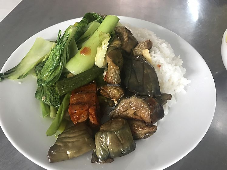 "Photo of An Lac Tam  by <a href=""/members/profile/JessicaEatsFood"">JessicaEatsFood</a> <br/>rice & veggies 30k VND <br/> August 3, 2017  - <a href='/contact/abuse/image/26442/288152'>Report</a>"