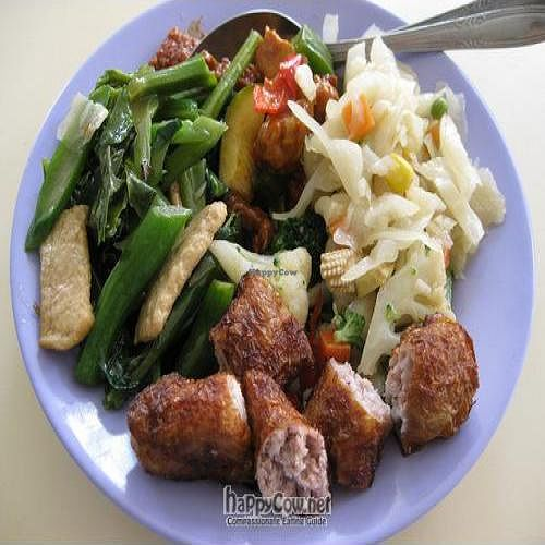 "Photo of Soon Lee Vegetarian Food  by <a href=""/members/profile/cvxmelody"">cvxmelody</a> <br/>Plate of food <br/> April 22, 2011  - <a href='/contact/abuse/image/26444/8305'>Report</a>"