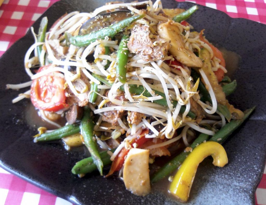 """Photo of CLOSED: Loving Hut Thien Dang  by <a href=""""/members/profile/Gally"""">Gally</a> <br/>Just a big plate of fresh veggies. My favourite <br/> July 19, 2015  - <a href='/contact/abuse/image/26462/109978'>Report</a>"""