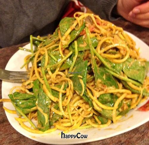 """Photo of PuraVegan  by <a href=""""/members/profile/MarielleLauren"""">MarielleLauren</a> <br/>'Rawfredo' made from zucchini 'noodles'! NOM NOM NOM <br/> May 16, 2013  - <a href='/contact/abuse/image/26482/48261'>Report</a>"""
