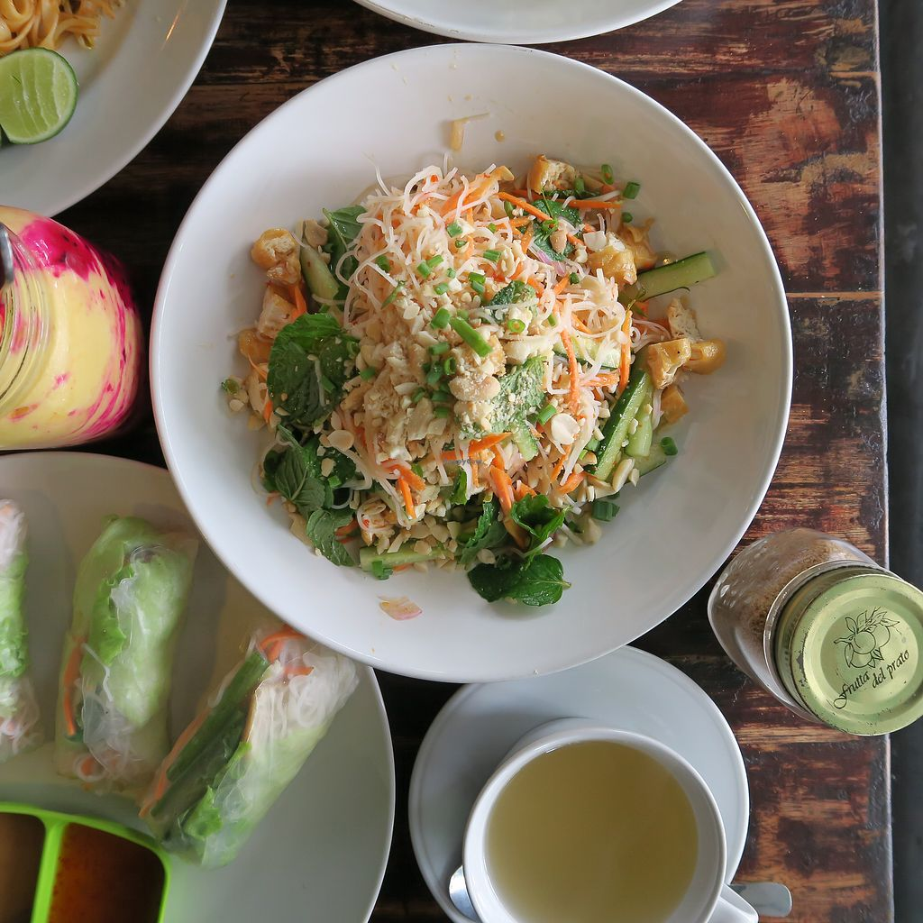 """Photo of Green Ginger Noodle House  by <a href=""""/members/profile/MOJO%21"""">MOJO!</a> <br/>vietnamese noodle salad <br/> August 26, 2017  - <a href='/contact/abuse/image/26529/297366'>Report</a>"""