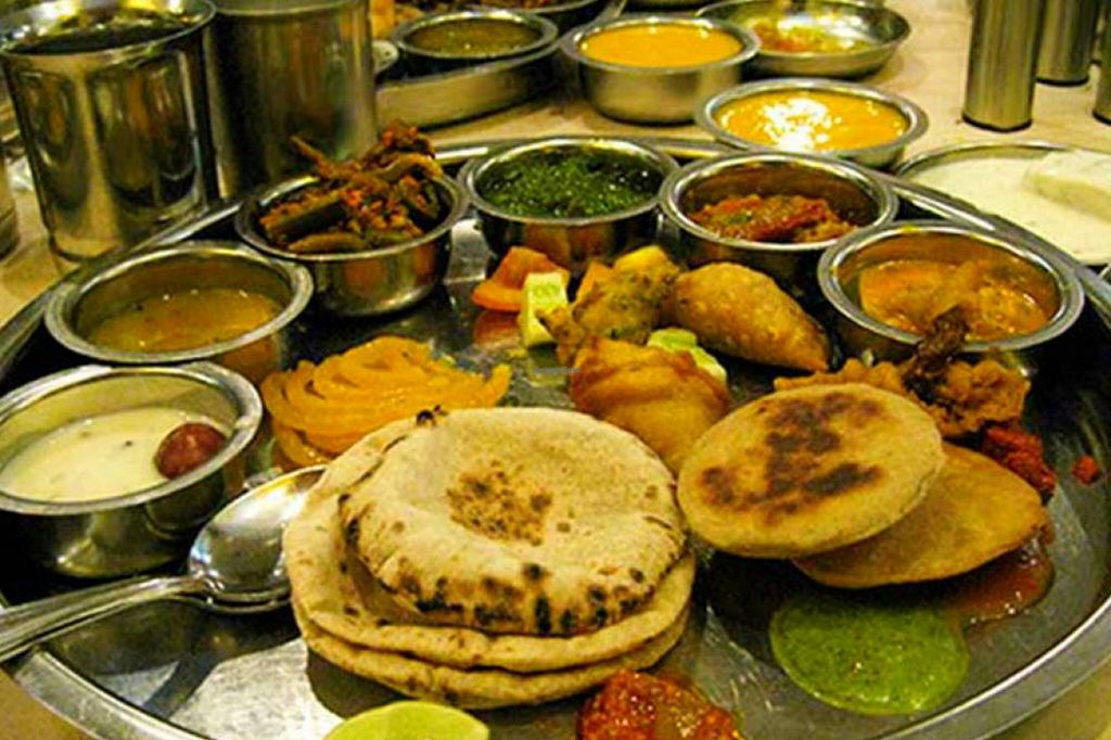 """Photo of Rajasthan Al Malaki  by <a href=""""/members/profile/RajasthanRoyal"""">RajasthanRoyal</a> <br/>Best ethnic food served from Royal kitchens of Rajasthan. We serve traditonal Rajasthani, Gujarati, Punjabi foods to serve your taste buds. Our menu includes traditional dishes like Daal, Baati, churma, Gatte ki subzi, panchkuta, Ker saangri etc <br/> December 25, 2015  - <a href='/contact/abuse/image/26538/129747'>Report</a>"""