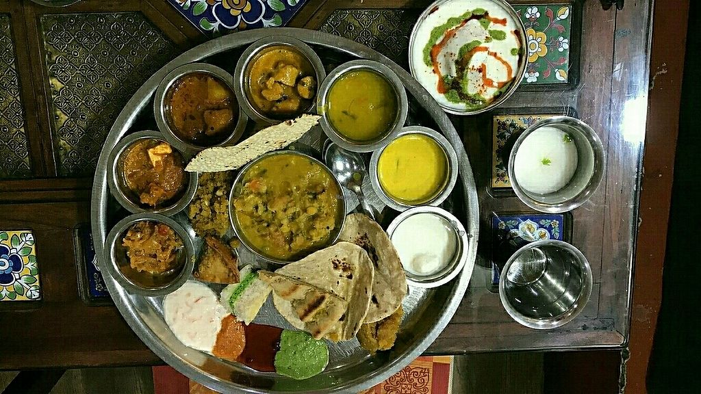 """Photo of Rajasthan Al Malaki  by <a href=""""/members/profile/lay"""">lay</a> <br/>Thali Meal <br/> August 6, 2017  - <a href='/contact/abuse/image/26538/289732'>Report</a>"""