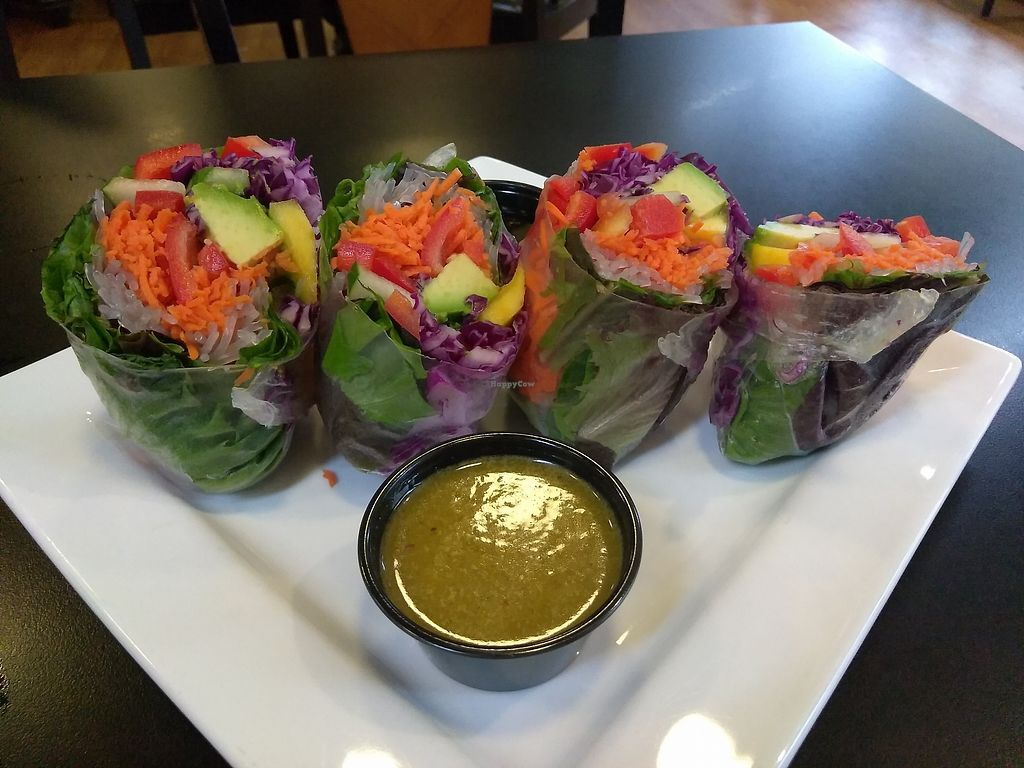 """Photo of Good Life Cafe  by <a href=""""/members/profile/maidenthesouth"""">maidenthesouth</a> <br/>Spring rolls <br/> September 24, 2017  - <a href='/contact/abuse/image/26543/307959'>Report</a>"""