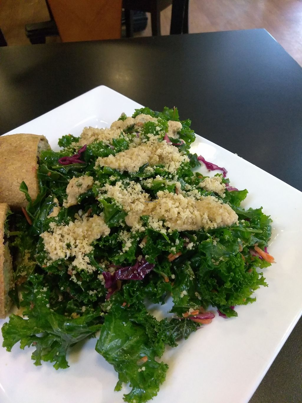 """Photo of Good Life Cafe  by <a href=""""/members/profile/maidenthesouth"""">maidenthesouth</a> <br/>Kale salad <br/> September 24, 2017  - <a href='/contact/abuse/image/26543/308021'>Report</a>"""