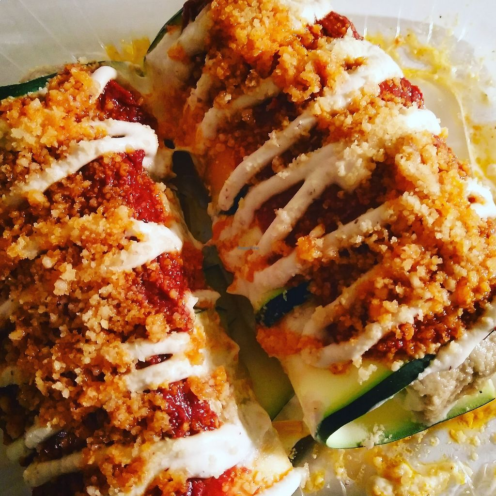 """Photo of Good Life Cafe  by <a href=""""/members/profile/maidenthesouth"""">maidenthesouth</a> <br/>manicotti to go <br/> September 26, 2017  - <a href='/contact/abuse/image/26543/308578'>Report</a>"""