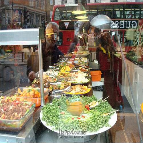 """Photo of CLOSED: Buffet  by <a href=""""/members/profile/cadugdale"""">cadugdale</a> <br/>a shot of some of the food through the window <br/> May 9, 2011  - <a href='/contact/abuse/image/26598/8561'>Report</a>"""