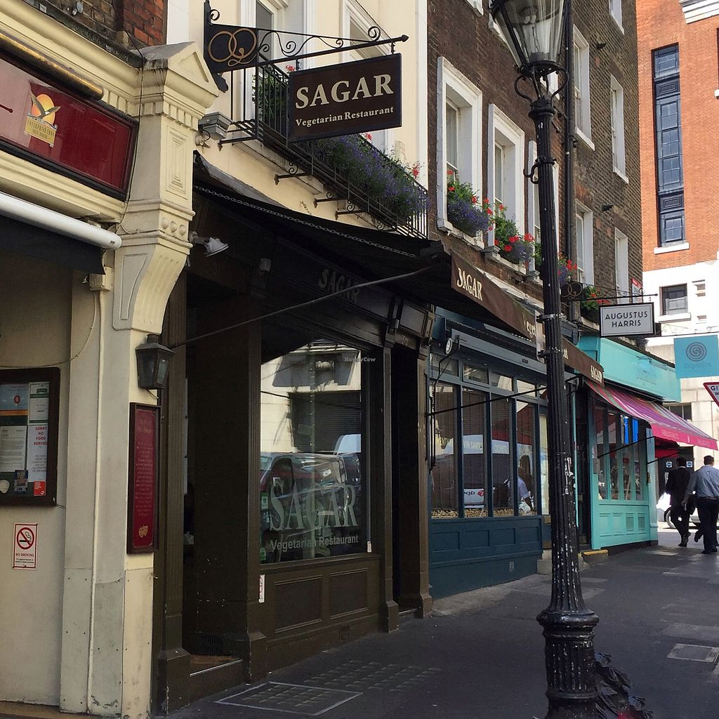 "Photo of Sagar - Covent Garden  by <a href=""/members/profile/suzagord"">suzagord</a> <br/>street view  <br/> July 17, 2017  - <a href='/contact/abuse/image/26599/281566'>Report</a>"