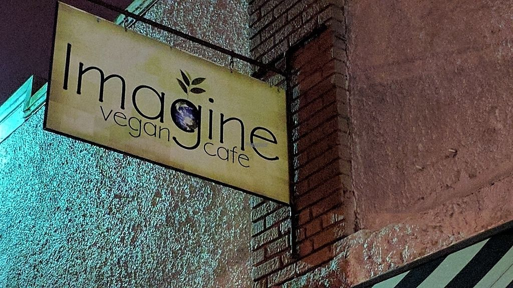 """Photo of Imagine Vegan Cafe  by <a href=""""/members/profile/ChelonianRacer"""">ChelonianRacer</a> <br/>Street view <br/> March 18, 2017  - <a href='/contact/abuse/image/26621/237685'>Report</a>"""