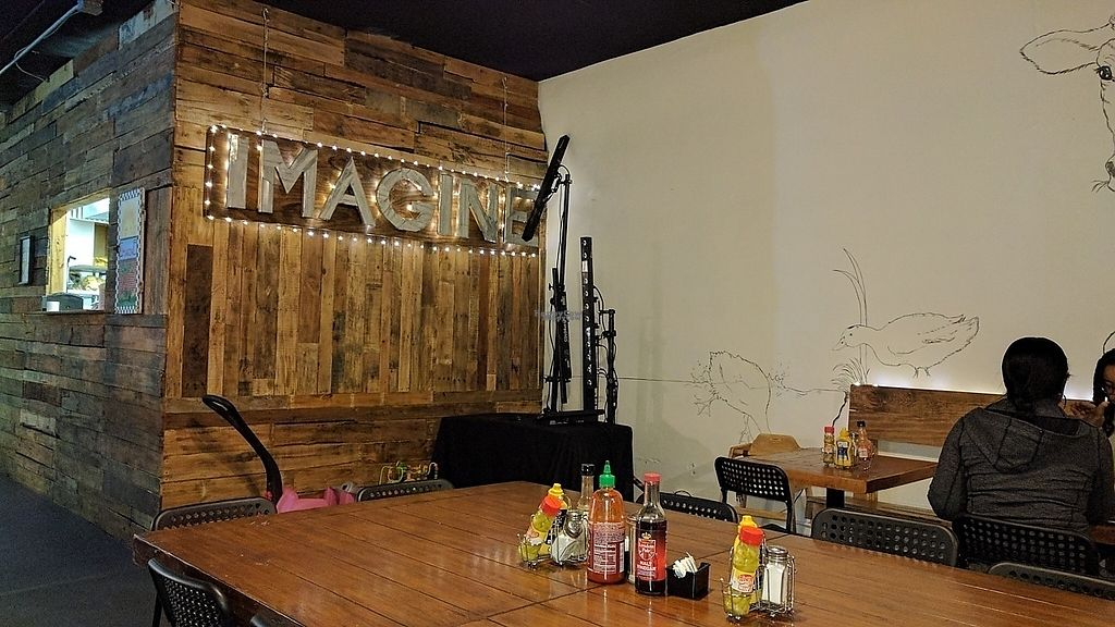 """Photo of Imagine Vegan Cafe  by <a href=""""/members/profile/ChelonianRacer"""">ChelonianRacer</a> <br/>Inside <br/> March 18, 2017  - <a href='/contact/abuse/image/26621/237687'>Report</a>"""