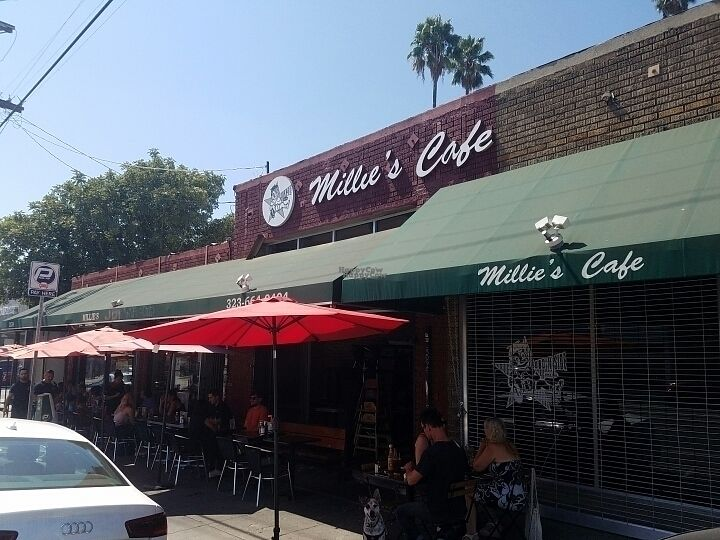 "Photo of Millie's Cafe  by <a href=""/members/profile/kenvegan"">kenvegan</a> <br/>outside <br/> August 30, 2016  - <a href='/contact/abuse/image/26623/172433'>Report</a>"