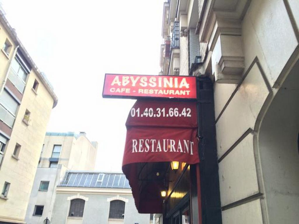 """Photo of Abyssinia  by <a href=""""/members/profile/Yakimom"""">Yakimom</a> <br/>outside restaurant  <br/> August 5, 2014  - <a href='/contact/abuse/image/26630/76121'>Report</a>"""