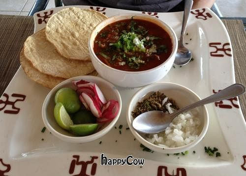 """Photo of Restaurante El Ameyal  by <a href=""""/members/profile/Ajolote"""">Ajolote</a> <br/>Pozole <br/> January 4, 2013  - <a href='/contact/abuse/image/26662/42313'>Report</a>"""
