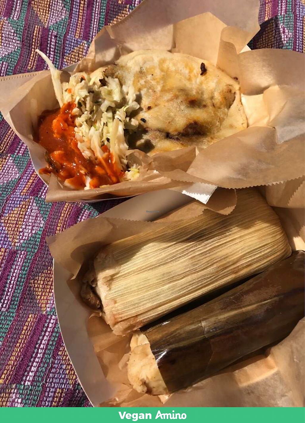 """Photo of Mama's International Tamales  by <a href=""""/members/profile/LoneCrone"""">LoneCrone</a> <br/>Mamas Tamales <br/> July 30, 2017  - <a href='/contact/abuse/image/26666/286482'>Report</a>"""