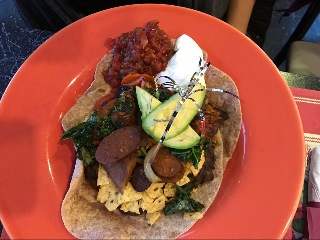 """Photo of The Cheeze Factory Restaurant  by <a href=""""/members/profile/HeartStrong"""">HeartStrong</a> <br/>Spicy sausage and shmeggs <br/> December 30, 2016  - <a href='/contact/abuse/image/2667/206329'>Report</a>"""