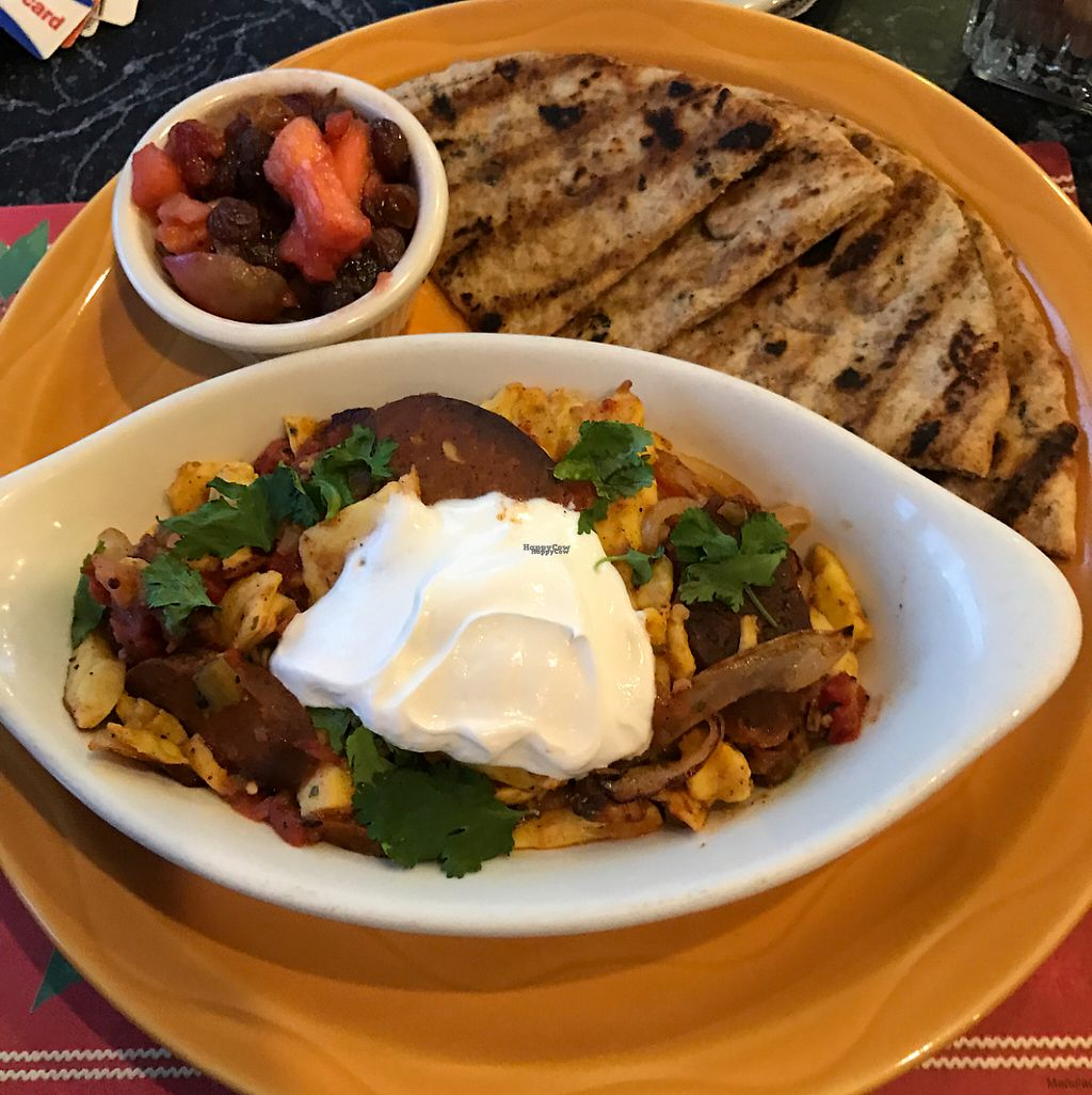 """Photo of The Cheeze Factory Restaurant  by <a href=""""/members/profile/HeartStrong"""">HeartStrong</a> <br/>Spicy sausage and schmeggs <br/> December 30, 2016  - <a href='/contact/abuse/image/2667/206331'>Report</a>"""