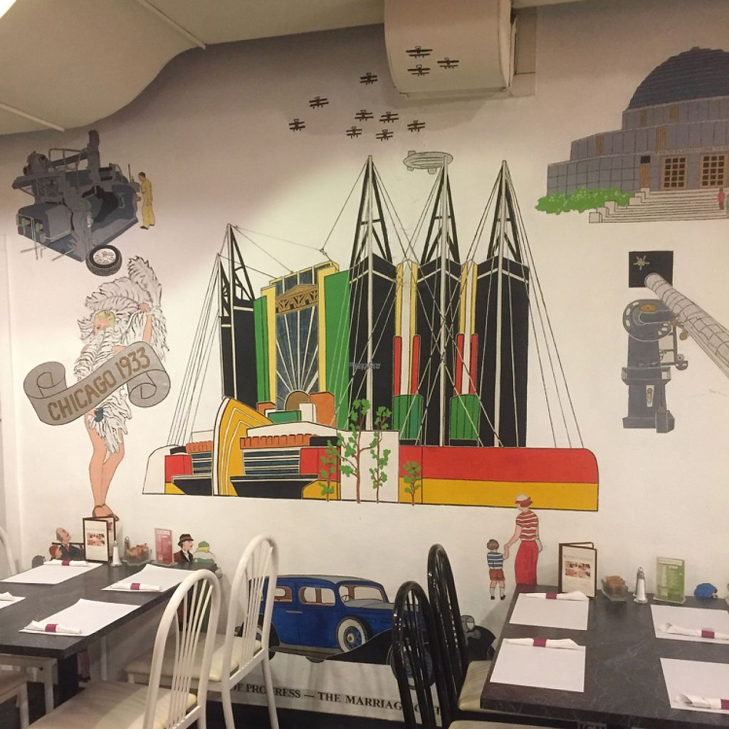 """Photo of The Cheeze Factory Restaurant  by <a href=""""/members/profile/happycowgirl"""">happycowgirl</a> <br/>beautiful artwork on the walls <br/> January 27, 2017  - <a href='/contact/abuse/image/2667/217663'>Report</a>"""