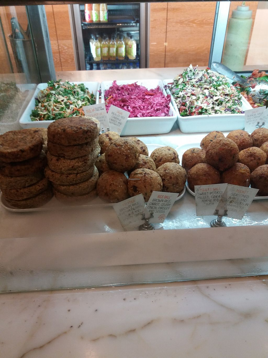 """Photo of Iku Wholefoods Kitchen - Westfield Plaza  by <a href=""""/members/profile/veganvirtues"""">veganvirtues</a> <br/>Choc full of goodies <br/> March 12, 2018  - <a href='/contact/abuse/image/26685/369534'>Report</a>"""
