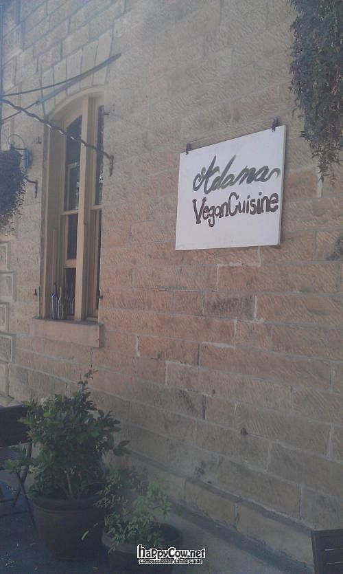 "Photo of CLOSED: Adama  by <a href=""/members/profile/dancingvegan"">dancingvegan</a> <br/>Outside patio <br/> July 30, 2012  - <a href='/contact/abuse/image/26691/35261'>Report</a>"