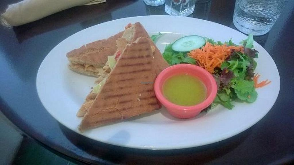 "Photo of CLOSED: Adama  by <a href=""/members/profile/Vegan%20Victoria"">Vegan Victoria</a> <br/>Chipotle Panini & salad with Lemon Vinaigrette dressing <br/> April 20, 2014  - <a href='/contact/abuse/image/26691/68093'>Report</a>"